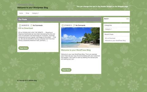 Screenshot of Blog digiclone.co.uk - 394b90s Blog - captured Nov. 24, 2016