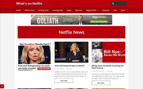 Netflix News - Whats On Netflix