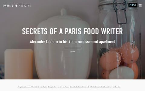 Screenshot of Team Page book-a-flat.com - People. How to live in Paris | Paris Life Magazine - captured Jan. 6, 2016