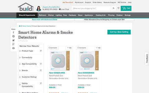 Automate your home with Nest Protect and Smart Home Smoke Detectors @ Build.com