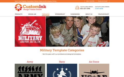 Military T-Shirt Designs - Designs For Custom Military T-Shirts - Free Shipping!