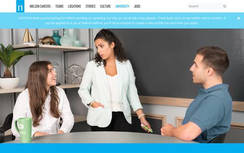 University – Nielsen Careers