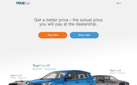 Car Prices & Inventory | Savings on New & Used Cars | TrueCar
