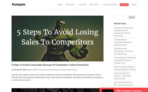 Promotional Marketing Archives | Kompyte