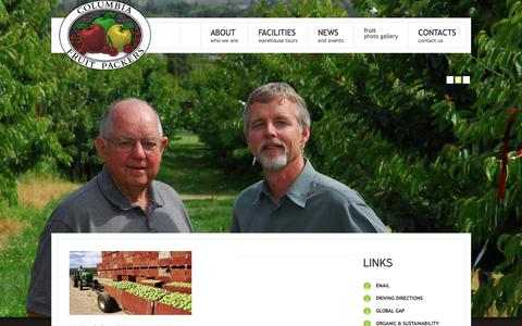 Columbia Fruit Packers, Inc. Home Page