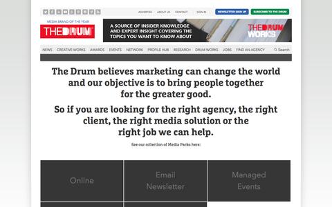 Advertise | The Drum