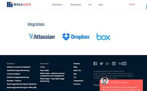 Integrations | Binadox