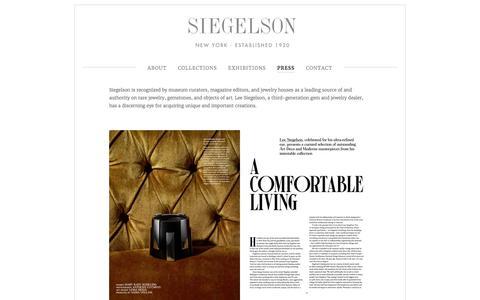 Screenshot of Press Page siegelson.com - Press — Siegelson - captured June 13, 2017