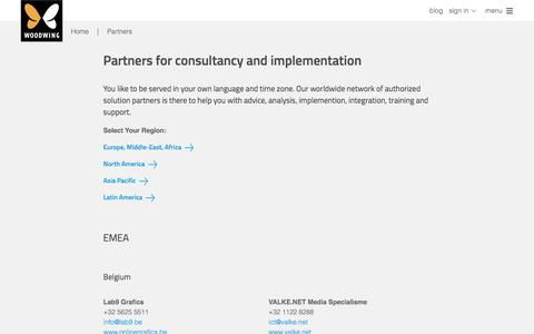 Partners for consultancy and implementation | WoodWing Software