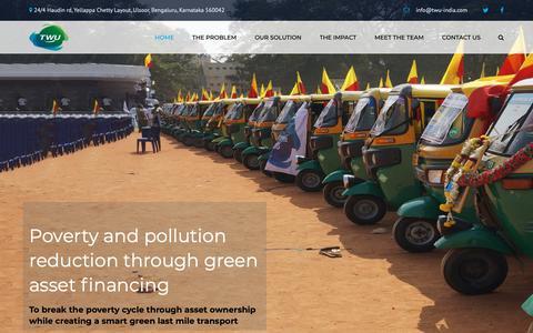 Screenshot of Home Page threewheelsunited.com - Three Wheels United – Just another WordPress site - captured Oct. 18, 2018