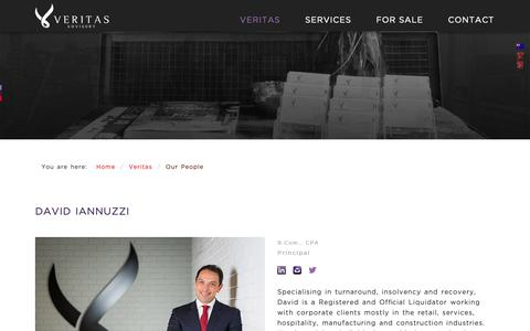 Screenshot of Team Page veritasadvisory.com.au - Veritas Advisory - Our People - captured Oct. 18, 2018