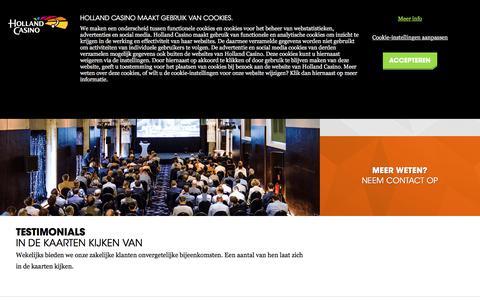 Screenshot of Testimonials Page hollandcasino.nl - Testimonials - Holland Casino - captured June 6, 2018