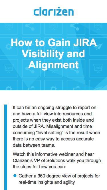 How to Gain JIRA Visibility and Alignment