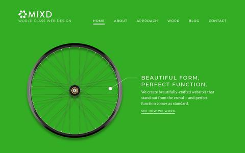 Mixd - World Class Web Design Leeds