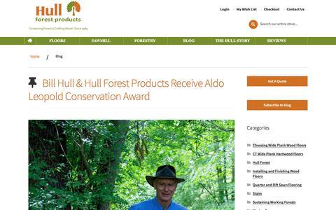 Screenshot of Blog hullforest.com - Blog   Hull - captured Jan. 7, 2020