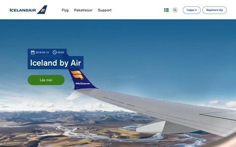 Screenshot of Blog icelandair.com - Blogg | Icelandair - captured Sept. 29, 2018