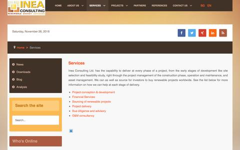 Low traffic Environment Services Pages on Joomla   Website