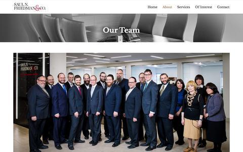 Screenshot of Team Page snfco.com - » Our Team - captured Feb. 4, 2016