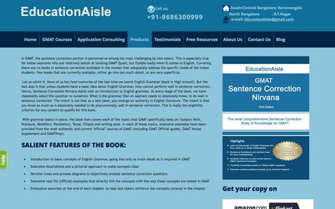 Screenshot of Products Page educationaisle.com - Products - captured Oct. 28, 2014