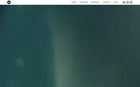 Screenshot of Home Page workhousecreative.com - Workhouse Creative - Workhouse Creative is a design collective of artists, directors, producers and finishers. - captured Sept. 30, 2014