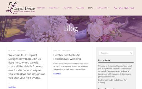 Screenshot of Blog jloriginaldesigns.com - Blog - JL Original Designs - captured Nov. 6, 2018