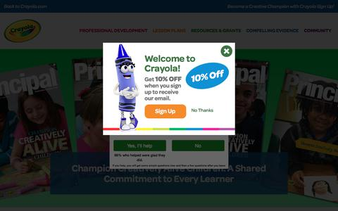 resources grants | crayola.com