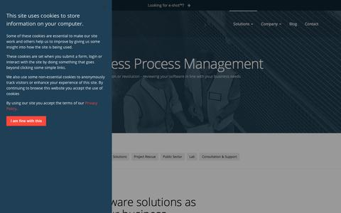 Screenshot of Team Page forfront.com - Forfront Business Process Management - captured Sept. 22, 2018