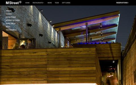 Screenshot of Home Page mstreetnashville.com - MStreet Nashville - captured Jan. 14, 2016