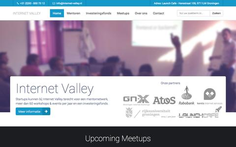 Screenshot of Home Page internet-valley.nl - Internet Valley - Internet Valley - captured Sept. 30, 2014