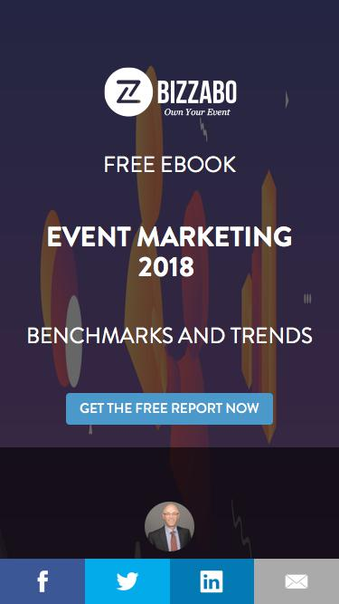Event Marketing 2018 Benchmarks and Trends | Bizzabo