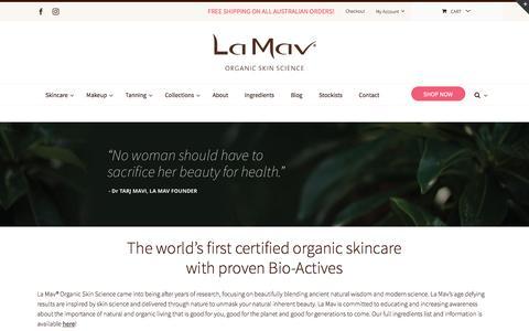 Screenshot of About Page lamav.com - About - lamav.com - captured May 13, 2017