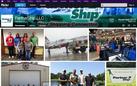 Screenshot of Flickr Page flickr.com - Flickr: PartnerShipLLC's Photostream - captured Nov. 1, 2014