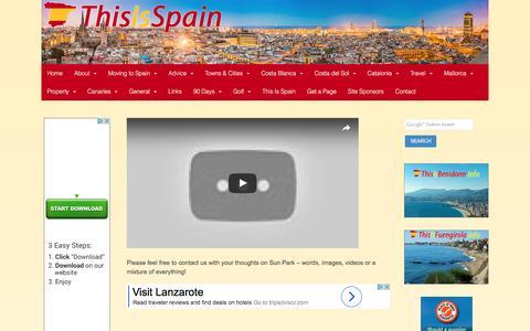 Screenshot of Testimonials Page thisisspain.info - Testimonials - This is Spain - captured Jan. 16, 2017