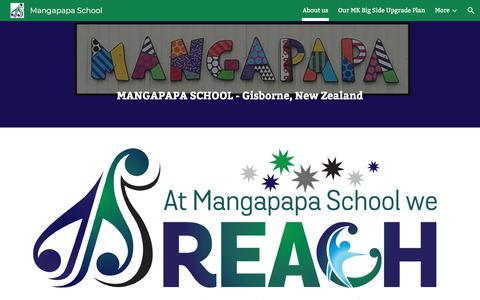 Screenshot of About Page google.com - Mangapapa School - captured June 28, 2018