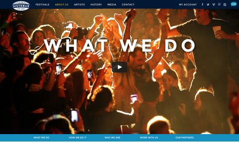 Screenshot of About Page sixthman.net - About Us | Sixthman - captured Sept. 19, 2014