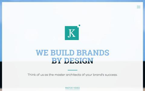 Screenshot of Home Page jkdesign.com - JK Design New Jersey (NJ) and New York (NY) - captured July 12, 2016