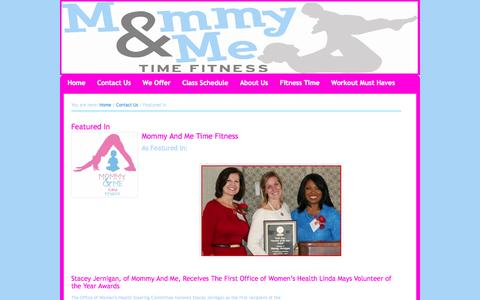 Screenshot of Press Page mommyandmetime.com - Mommy And Me Time Featured in: ABC News 33/40 Focus@4 - captured Oct. 26, 2014