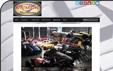Screenshot of Contact Page kitcarcollection.com - Kitcarcollection | Contact Us - captured Aug. 9, 2016
