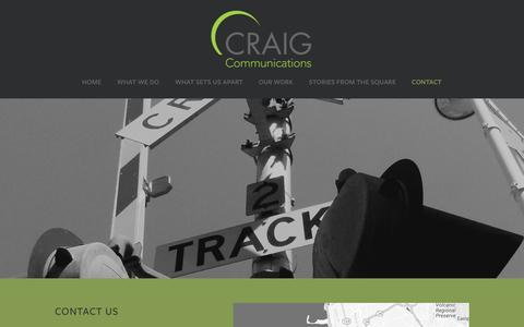 Screenshot of Locations Page craig-communications.com - Locations —  Craig Communications - captured May 22, 2017