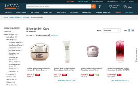 Latest Skin Care Shiseido  Products | Enjoy Huge Discounts | Lazada SG