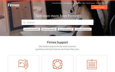 Firmex Knowledge Base