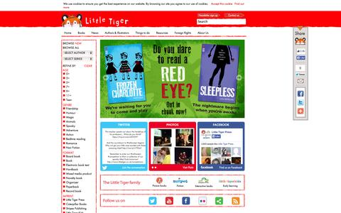 Screenshot of Home Page littletiger.co.uk - Little Tiger Press|Little Tiger - captured Oct. 2, 2014