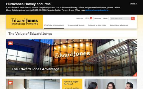 The Value Of Edward Jones | Edward Jones