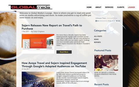 Screenshot of Blog global-media.gr - Blog Lounge   Greece   Global Media - captured Oct. 21, 2018