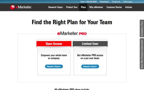 Digital Marketing Research Platform & Plans | eMarketer