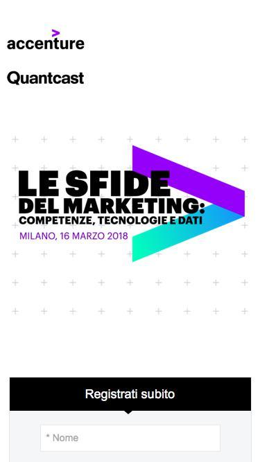 Accenture e Quantcast | Le sfide del marketing: competenze, tecnologie e dati