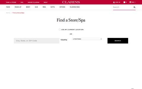 Find a Store/Spa