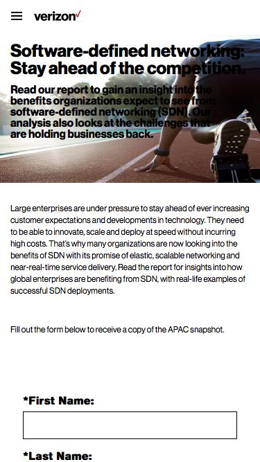 Embracing the disruptive power of software-defined networking: SDN Adoption in Asia-Pacific