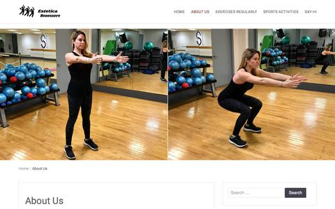 Screenshot of About Page estetica-benessere.net - About Us - Estetica Benessere - captured March 20, 2018