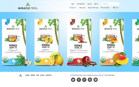 Screenshot of Products Page miracletree.co - Collections                           | Miracle Tree - captured Oct. 2, 2014